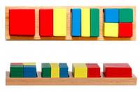 Дроби малые 2 квадрат Мир деревянных игрушек (Д145)