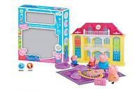 Игрушечный домик с фигурками и светом Вилла Свинки Пеппы ZY-559