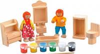 Набор для творчества Ванная комната Мир деревянных игрушек (Д246)