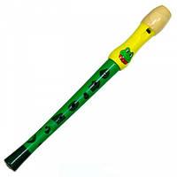 Флейта зелёная Мир деревянных игрушек (Д217-2)