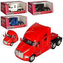 Машинка KT 5357 W мет , інерц , гумові колеса, відчин двері, 4 кольори, кор , 16-8-7 см (BOC093331)
