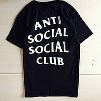 Футболка с принтом A.S.S.C. Anti Social social club мужская