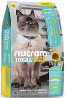Nutram I19 Ideal Solution Support Sensetive Coat, Skin, Stomach Cat, 6,8 кг