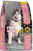 Nutram S5 Sound Balanced Wellness Adult & Senior Cat, 6,8 кг