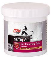 99924 Nutri-Vet Dog Ear Wipe Салфетки для гигиены ушей собак, 90 шт