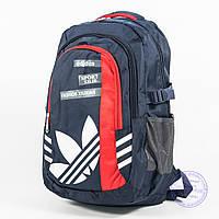 Спортивный рюкзак Адидас - синий - 8186