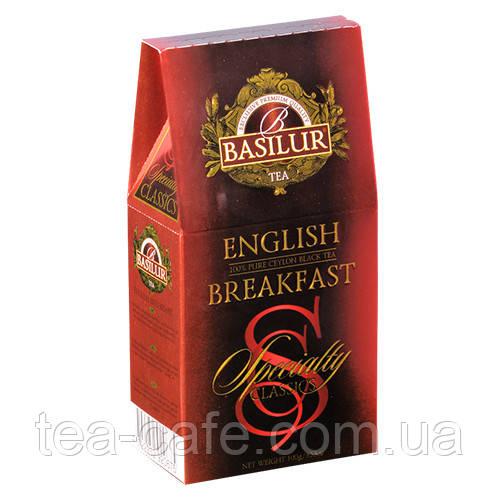 Чай черный Basilur Избранная классика Английский завтрак 100 г
