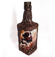 """Подарочная бутылка для охотника """"Трофей"""", оригинальный подарок мужчине на день рождения юбилей"""