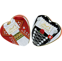 Швейцарский шоколад Lindt swiss hearts 90g