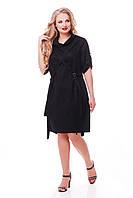 Платье женское Берта черное, фото 1