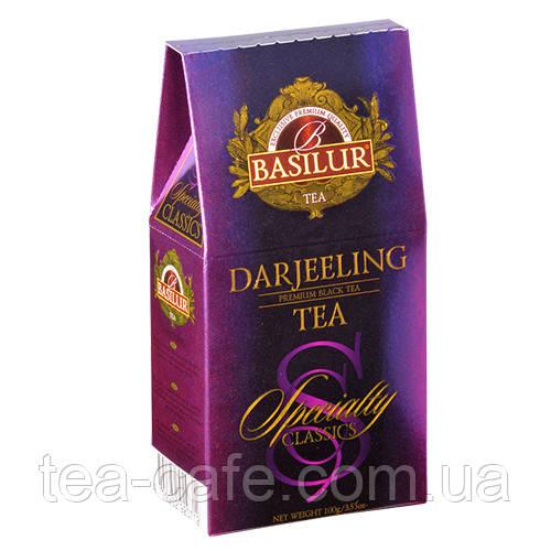 Чай чорний Basilur Обібрана класика Дарджилінг 100 г