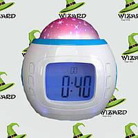Часы проектор Звездное Небо