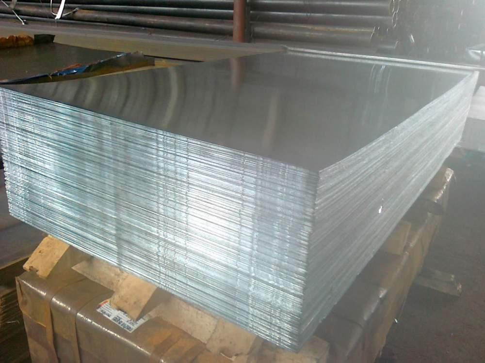 Лист стальной оцинкованный 1,0х1250х2500мм 08пс