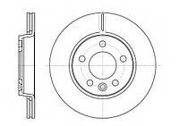 Тормозной диск задний Volksvagen T5