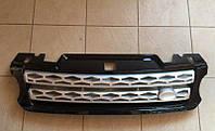Решетка на Range Rover Sport (2013-...) (черная с серой сеткой), фото 1