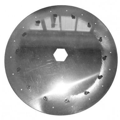 N04318B0 Диск аппарата высевающий подсолнух (d=3, 18отв) КУН Maxima