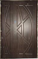 Дверь входная двустворчатая 1200