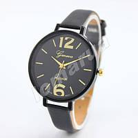 Женские кварцевые часы Geneva Platinum Black