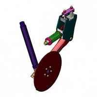 СУС 00.4600-01 Сошник туковый левый (диск слевой стороны) ВЕГА
