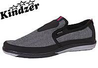 Кеди джнсові Kindzer J-9 Grey