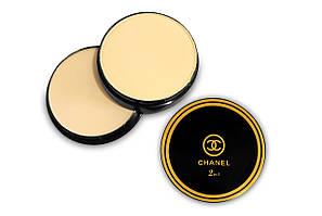 Компактная пудра Chanel 2 in1 Vitalumiere eclat tent compact