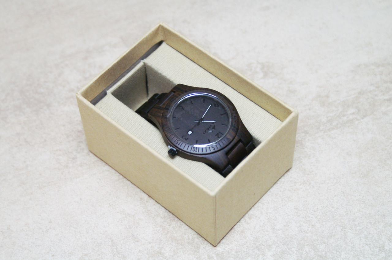 Эксклюзивные брендовые деревянные наручные часы Amexi (сандал)