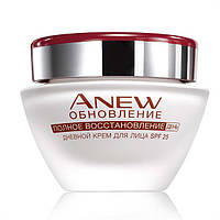 25228, Avon Cosmetics.Дневной крем для лица «Обновление» SPF25 для возраста 35+. Avon Cosmetics, 25228.