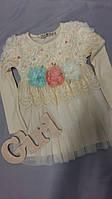 Нарядное детское платье для девочки 100/54