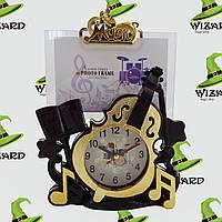 Фоторамка с часами Виолончель
