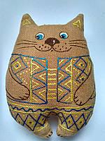 Украинский сувенир  Кот в вышиванке ароматизированный .