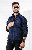 Стильная ветровка куртка для мужчин из прочной плащевки, лого Dolce and Gabbana