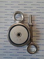 Двухсторонний поисковый неодимовый магнит на 200 кг Тритон
