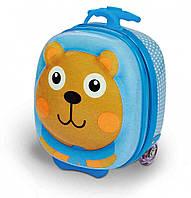 Чемодан детский на колесах Путешествие медвежонка Джо Oops (OS3100311)