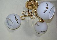 Люстра, 3 лампы, фото 1