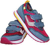 Детские кроссовки сетка для девочек Kylie Crazy размеры 30-35