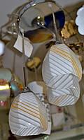 Люстра, 3 лампы, подвесная
