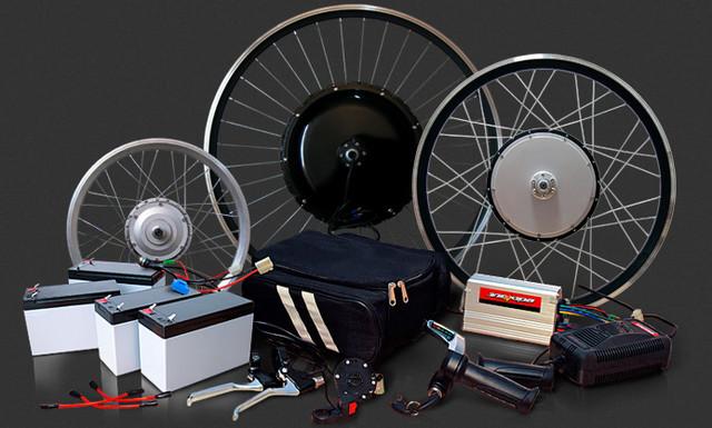 Комплектующие для велосипедов и электровелосипедов