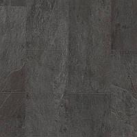 Quick-Step AMCP40035 Сланец черный, виниловый пол Livyn Ambient Click Plus