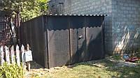 Разборной гараж с односкатной крышей 3х5 (стены 2, крыша 0,7)