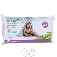 Органические детские влажные салфетки, 60шт (8432984001056)