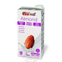 Органическое растительное молоко из миндаля с протеином без сахара