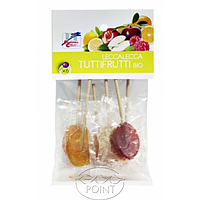 Леденцы фруктовые органические, 50 г, ORGANIC FRUIT LOLLYPOPS (8017977026942)