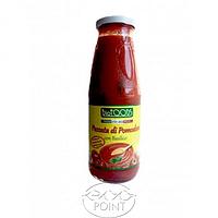 Пюре из томатов с базиликом, 680 г, BIOFOODS - ORGANIC MASHED TOMATOES WITH BASIL LEAF (8002225650758)