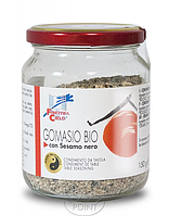 Приправа Гомасио с черным сезамом, 150 г, ORGANIC GOMASIO WITH BLACK SESAME (8017977021053)