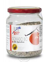 Приправа Гомасио со спирулиной, 150 г, ORGANIC GOMASIO WITH SPIRULINA (8017977015236)