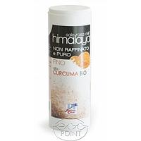 Соль гималайская розовая с куркумой, 200 г, ORGANIC PINK HIMALAYA SALT WITH TURMERIC (in dispenser) (801797703