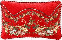 Подушка декоративная Букет 30x45 см красная La Nuit