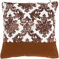 Подушка декоративная Изабелла 45х45 коричневая