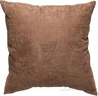 Подушка декоративная Коричневая 45х45 см