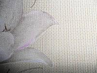 Обои на стену, винил на флизелине, 944 - 01, STATUS, лен, 1,06*10м